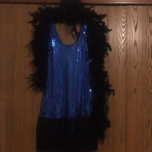 Flapper dress costume & accesories